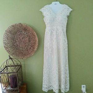 Modcloth Geode Lace Dress